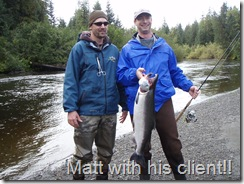 Guide and Client with nice fish