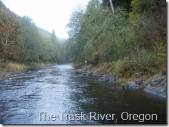 The Trask River, Oregon