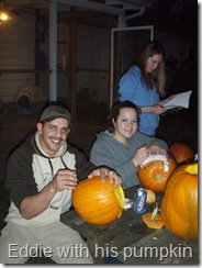 Carving pumpkin's